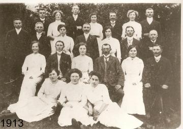 1913 - Daniel Risse und Franziska Wessel