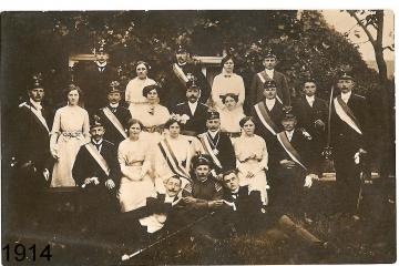 1914 - Franz Meier und Therese Hermesmeier