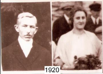 1920 - Franz Thiele und Anna Hoffmeister