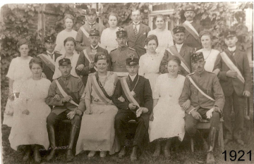 1921 - Josef Mettenmeier und Maria Lechtken