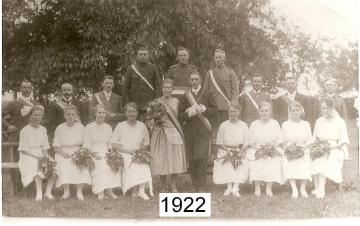 1922 - Josef Montag und Theresia Vonnahme