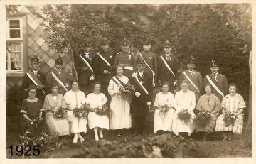 1925 - Heinrich Meierotte und Antonia Montag