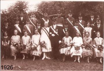 1926 - Heinrich Kemper und Maria Hermesmeier