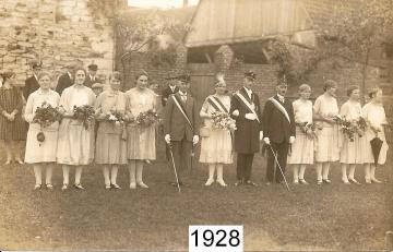 1928 - Josef Risse und Katherina Thebille