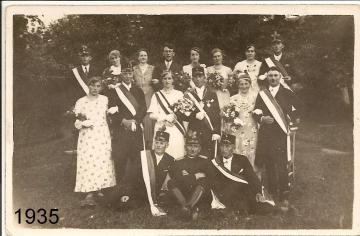 1935 - Johannes Daniels und Theresia Bartels