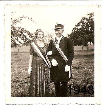 1948 - Josef Thebille und Gertrud Niggemann