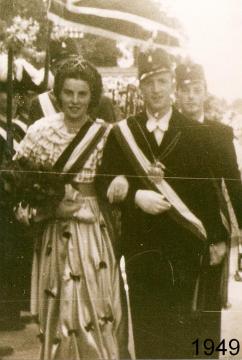 1949 - Josef Menke und Leni Schäfers