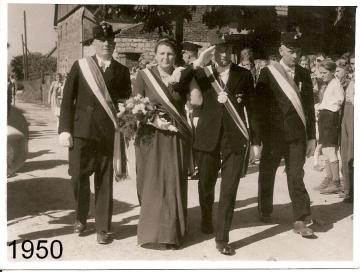 1950 - Franz Niggemann und Anna Thebille