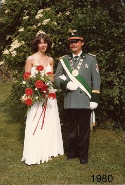 1980 - Heinrich Beller und Gabi Meier